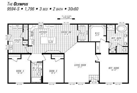 Marlette Homes Floor Plans by The Olympus By Marlette Hermiston