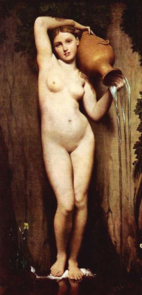 Romanticism Paintings - The Source - Ingrès