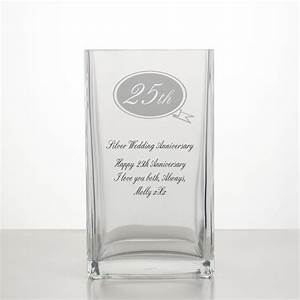 Silver Wedding Annivesary Vase 25th Anniversary Gifts