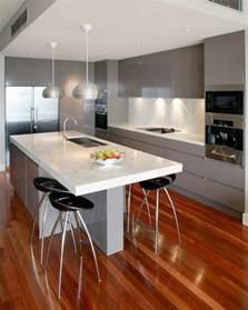 cuisine avec ilo la cuisine équipée avec îlot central 66 idées en photos