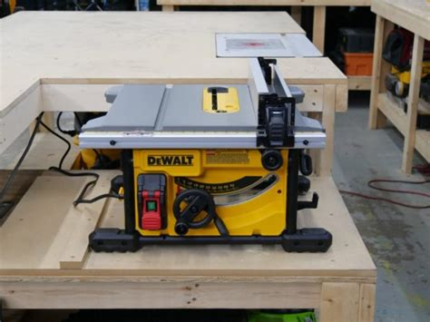 dewalt job site table  tools  action power tool