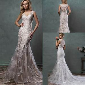 2016 lace wedding dresses mermaid trumpet amelia sposa With lace wedding dresses 2016