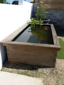 bassin hors sol pour n 233 nuphars de patrice b