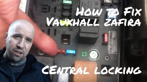 vauxhall zafira central locking not working youtube