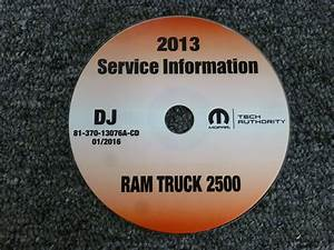 2013 Dodge Ram Truck 2500 Shop Service Repair Manual Cd