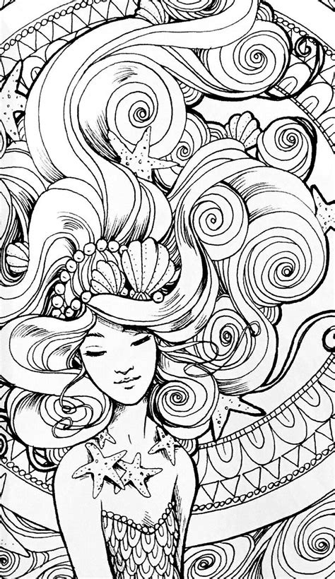 Pin by Elisabeth Quisenberry on Coloring: Sirens Of The