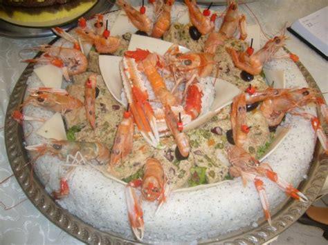 decoration de salade sur assiette salade chaude au fruit de mer bien venue sur mon 06 06 96 16 06