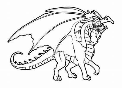 Dragon Coloring Pages Printable Fire Realistic Breathing