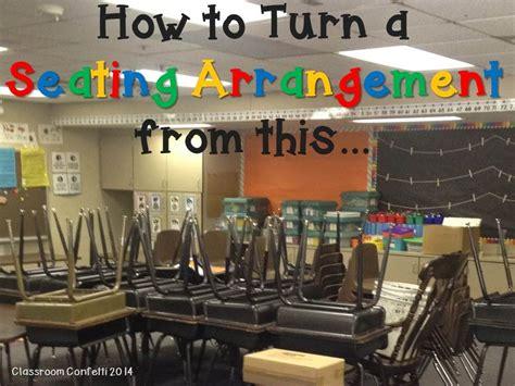 best desk arrangement for classroom management seating arrangements classroom confetti