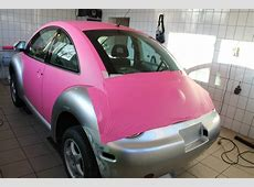Pink VW Beetle a Joyful Cliche autoevolution