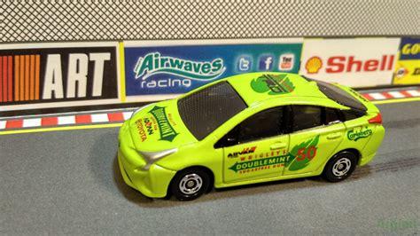 tomica toyota prius 2017 阿芝米車仔誌 argimi mini car blog tomica 玩具車 收藏品 argimi 二次加工作品 分享