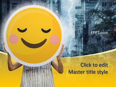 smile powerpoint template  powerpoint templates