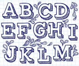 font designer font shaded letters and decorations vector clipart image 29198 rfclipart