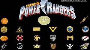 Power Rangers Symbols by Jitterdoomer on DeviantArt