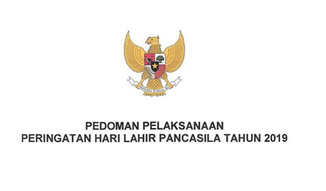 panduan  tema logo hari lahir pancasila