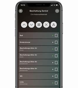 Rolladensteuerung Per App : beschattung steuern rolladensteuerung jalousiesteuerung etc loxone ~ Frokenaadalensverden.com Haus und Dekorationen