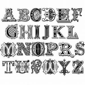 decorative alphabet letters printable wwwimgkidcom With decorated letters ofthe alphabet