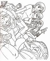 Piece Coloring Coloriage Dessin Luffy Nami Robin Crew Dessins Nico Colouring Imprimer Colorier Sheets Onepiece Credit Oasidelleanime Dragon Ball Sketch sketch template