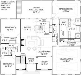 open kitchen house plans i like the foyer study open concept great room and kitchen portion of this floor plan and how