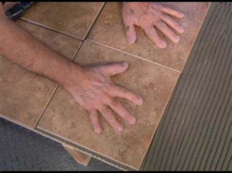 lay tile  plywood youtube
