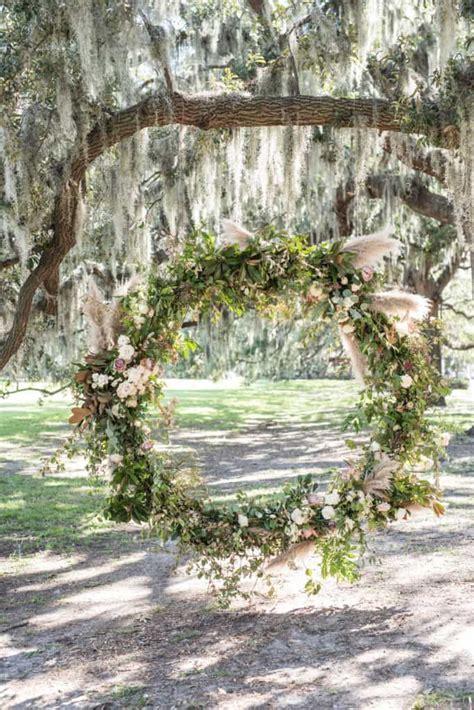 mayesh design star floral hoops