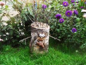 25 ideas to recycle tree stumps for garden art and yard decorations