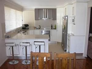 kitchen design ideas polished concrete kitchen concrete With small u shaped kitchen design ideas