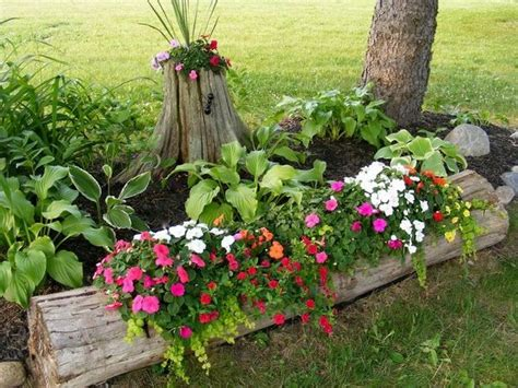 Garden Decoration Logs by 15 Diy Garden Decoration With Tree Or Logs That You Will