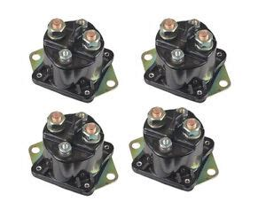 four new winch solenoids for warn 72631 28396 solenoid relay xd9000i 9 5ti ebay