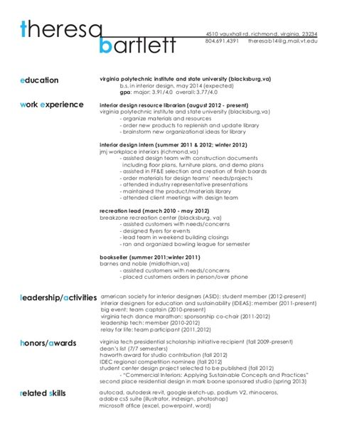 Design Student Resume by Resume Work Sle