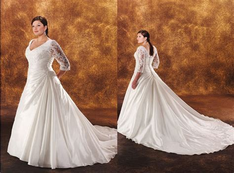 Wedding Dresses Plus Size : Ruched Wedding Gown Styles