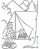 Camping Coloring Pages Printable Related sketch template