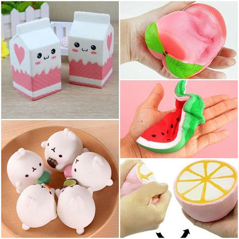 jumbo rising squishies scented charms kawaii squishy squeeze toy ebay