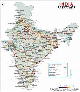 India Train Rail Maps