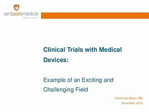 clinical trials with medical devices With clinical research field
