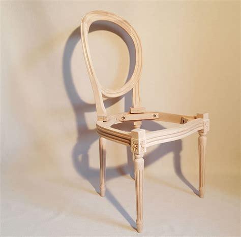 chaises médaillon chaise medaillon a garnir les beaux sièges de