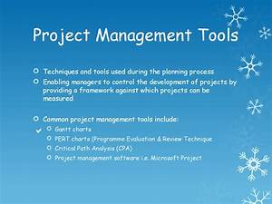 Project Management Tools - Pert And Cpa