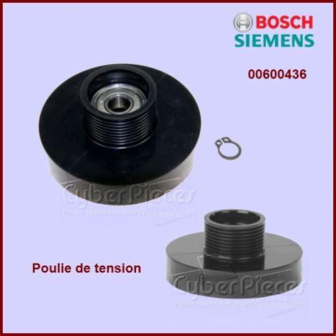galet tendeur de s 232 che linge 00600436 pour seche linge lavage pieces detachees electromenager