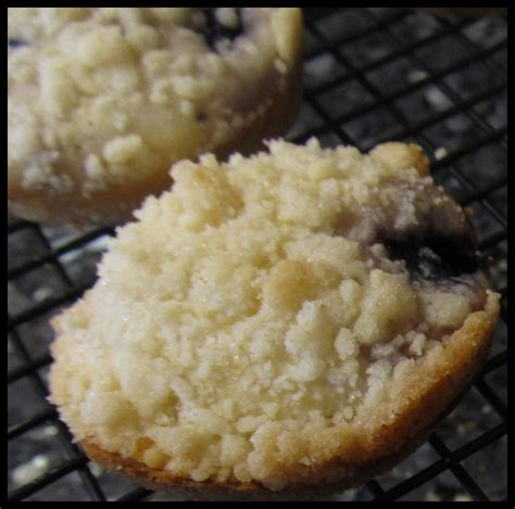 moms crazy cooking guest posting  cajun sugar pie blueberry muffin tops