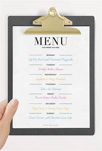 9 dinner party menu templates design templates free With party menu planner template