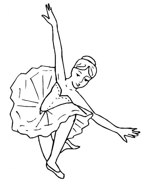 amazing ballerina performance coloring page color luna