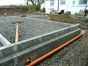 va39s home build groundwork part 4 oversite and drainage With laying a concrete floor with membrane
