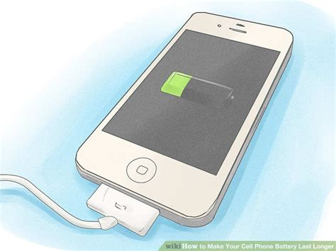 ways    cell phone battery  longer wikihow