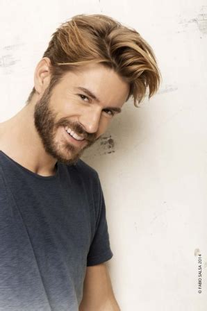 coupe de cheveux homme blond coupe de cheveux homme blond printemps 233 t 233 2014 fabio salsa diaporama beaut 233 doctissimo