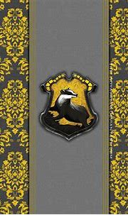 Wallpaper pattern, Harry Potter, Hogwarts, badger ...