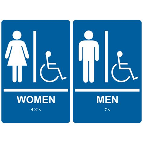 printable handicap bathroom signs printable handicap sign cliparts co