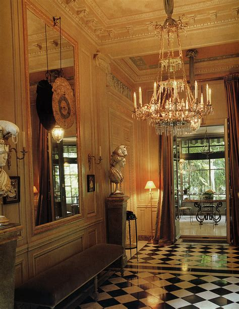 Beautiful Parisian Apartments by Yves Laurent S Duplex Entrance Fav