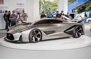 Nissan, Concept, 2020, Vision, Gran, Turismo, Unwrapped, At, Goodwood