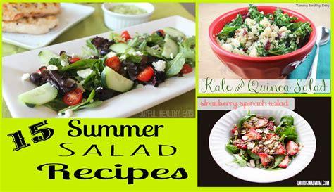 summer salads recipes summer salad recipe roundup salad recipes