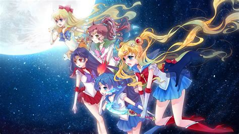 Anime Sailor Moon Wallpaper - sailor moon hd wallpaper and background